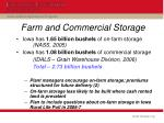 farm and commercial storage