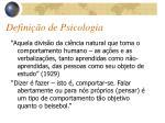 defini o de psicologia1