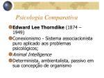 psicologia comparativa1