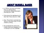 about russell baker1