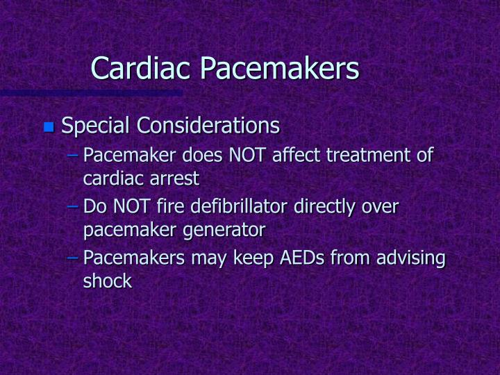 Cardiac Pacemakers
