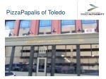pizzapapalis of toledo