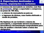 4 exporta es destinadas a feiras exposi es e certames