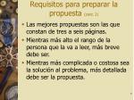 requisitos para preparar la propuesta cont 2
