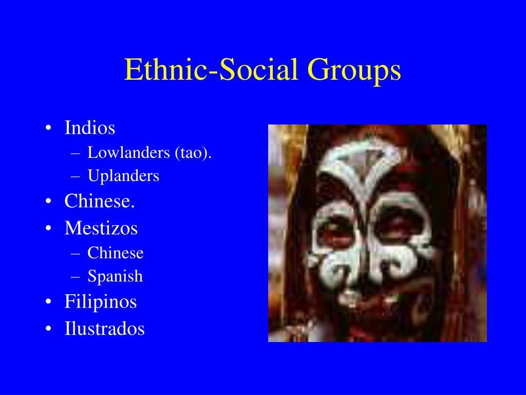 Ethnic-Social Groups