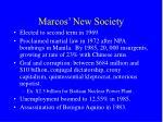 marcos new society