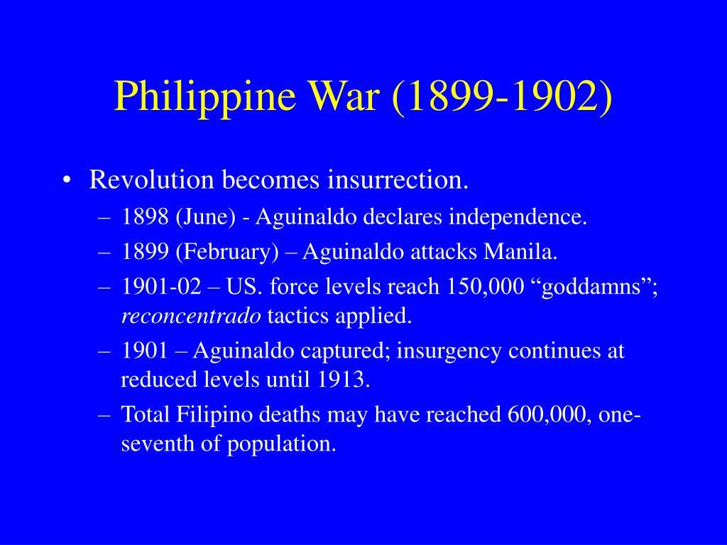 Philippine War (1899-1902)