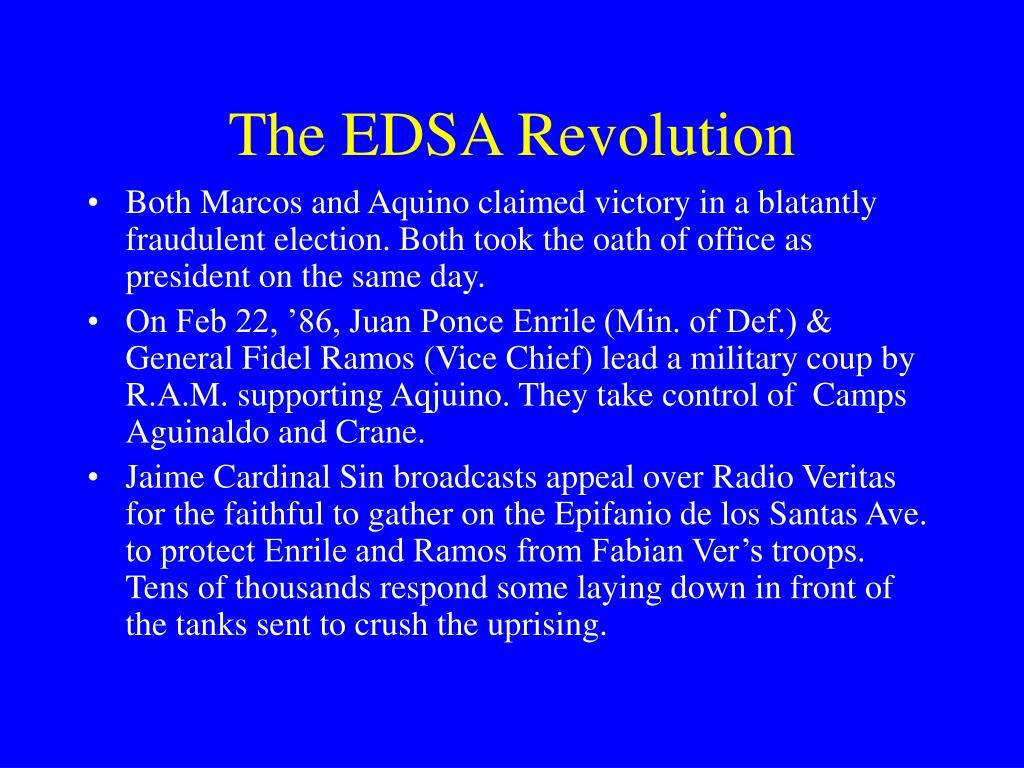 The EDSA Revolution