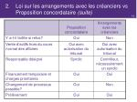 2 loi sur les arrangements avec les cr anciers vs proposition concordataire suite3