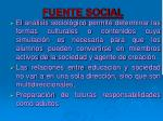 fuente social