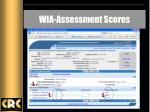 wia assessment scores