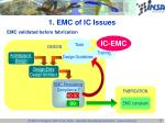 1 emc of ic issues