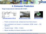 4 emission prediction