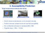 6 susceptibility prediction