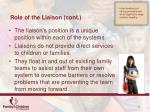 role of the liaison cont2