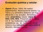 evoluci n qu mica y celular2