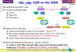 vlbi udp udp on the wan