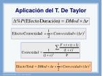 aplicaci n del t de taylor