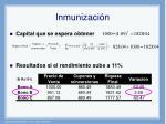 inmunizaci n