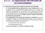 5 1 1 1 la negociaci n del mercado de las externalidades1