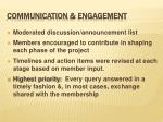 communication engagement
