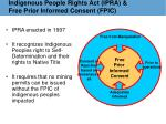 indigenous people rights act ipra free prior informed consent fpic