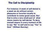 the call to discipleship10
