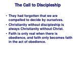 the call to discipleship18