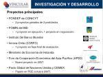 investigaci n y desarrollo