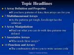 topic headlines1