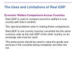 the uses and limitations of real gdp3