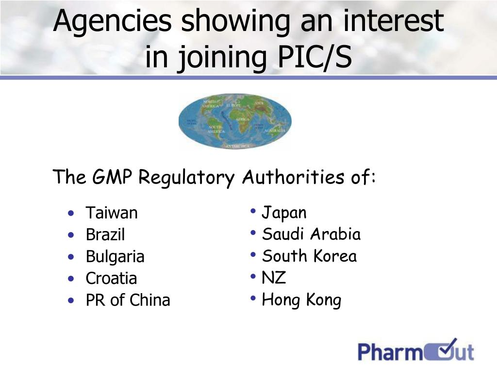 Agencies showing an interest