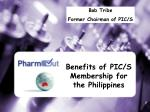 benefits of pic s membership for the philippines