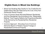 eligible basis in mixed use buildings