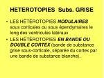 heterotopies subs grise