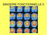 imagerie fonctionnelle ii