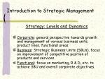 introduction to strategic management13