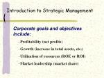 introduction to strategic management14