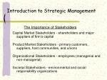 introduction to strategic management16