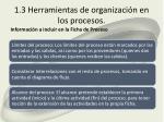 1 3 herramientas de organizaci n en los procesos2