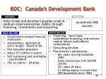 bdc canada s development bank