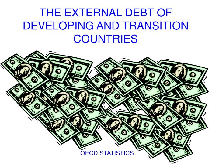 the external debt of developing and transition countries n.