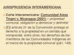 jurisprudencia interamericana