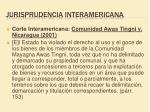 jurisprudencia interamericana1