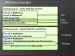 linq query examples