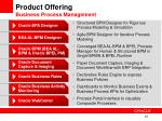 product offering business process management