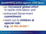 accelerating action against child labour