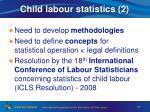 child labour statistics 2