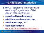 child labour statistics1