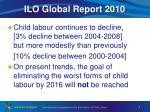 ilo global report 2010